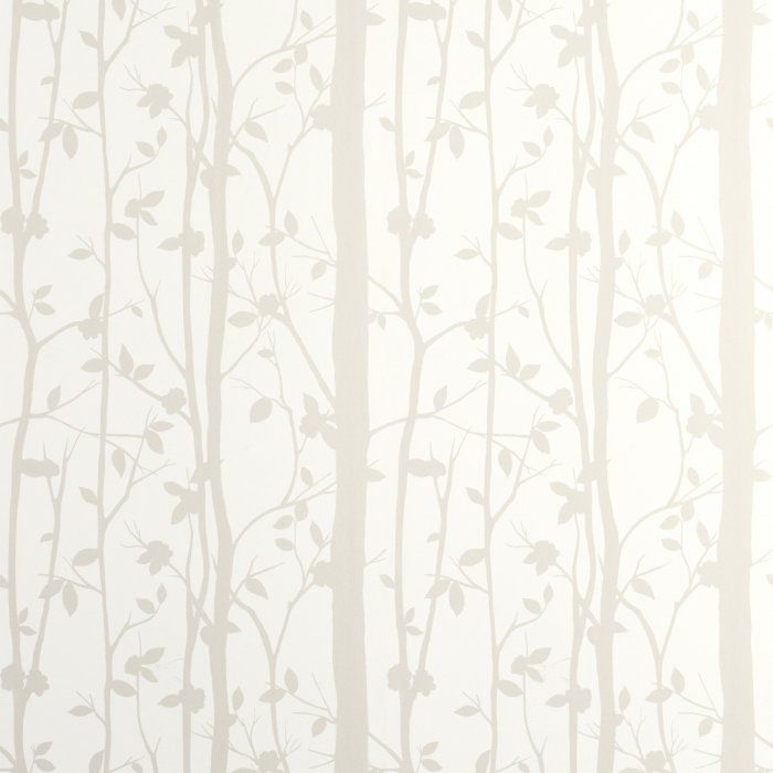 Cottonwood White - Behang - Interieur - Interieur - Laura Ashley