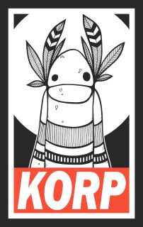 25% off if you pre-order this Korp t-shirt today for just £14.99.  ​Images shown are a mock up and are intended for illustrative purposes only. T-Shirts will be screen printed by Sea Dog Print Studio on Gildan Premium t-shirts.  ​Order now as after 29th October the price returns to £20.