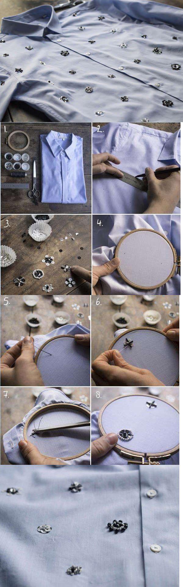 12 Extraordinary DIY Ways How To Renew Your Old Shirts