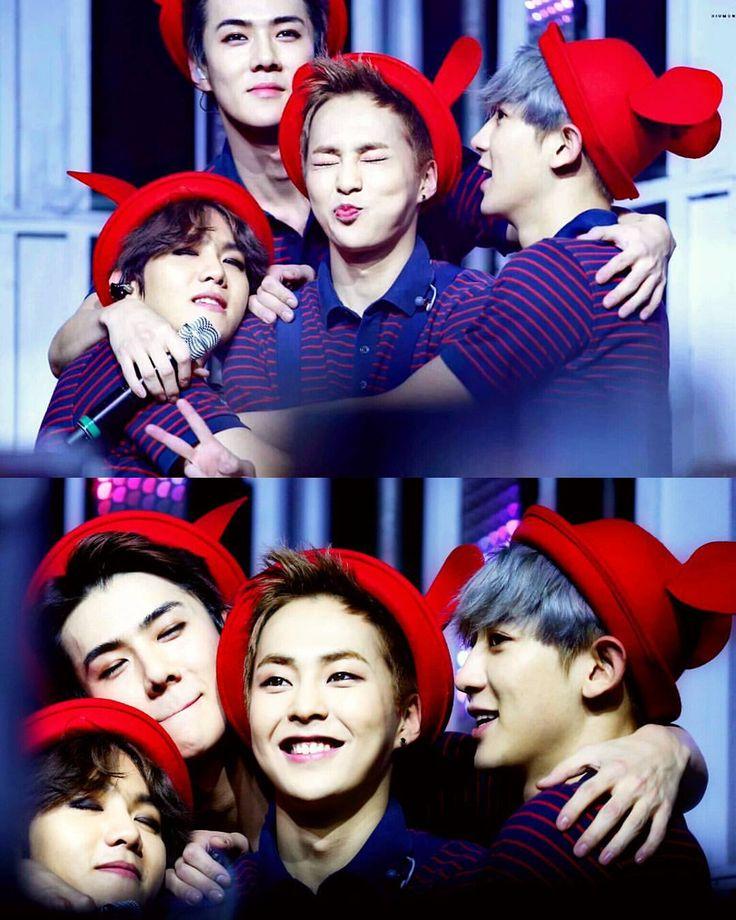 Baekhyun, Sehun, Xiumin and Chanyeol