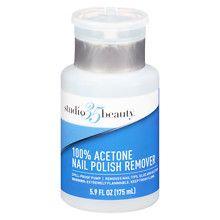 Studio 35Nail Polish Remover Pump 100% Acetone at Walgreens. Get free shipping at $35 and view promotions and reviews for Studio 35Nail Polish Remover Pump 100% Acetone