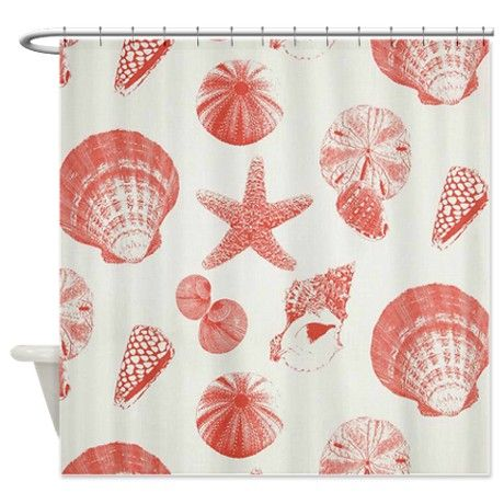 50 Best Images About Bathroom On Pinterest Coral Shower Curtains Bath Cadd