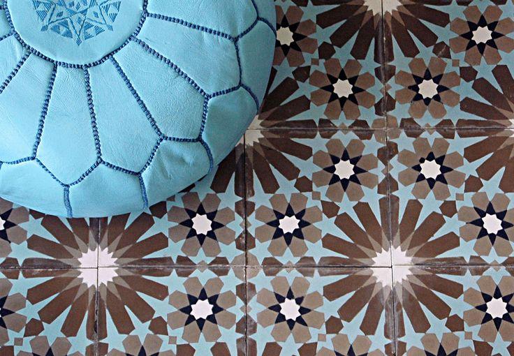 maroc cement tile