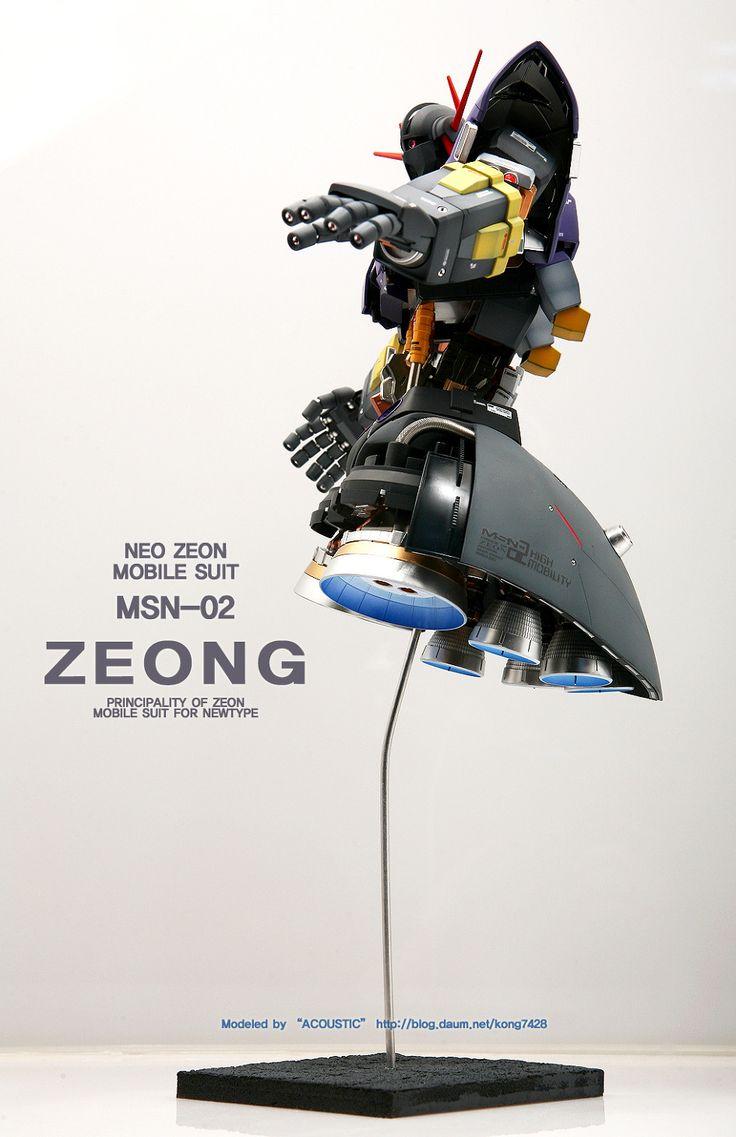 [MG] MSN-02 ZEONG 풀해치오픈 완성작 150428