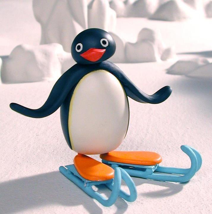 Pingu!  De video van pingu kreeg ik als kerstcadeau toen ik 5 jaar was.  Net zoals elk kind keek ik ongelukkig naar het kleine cadeautje. Toen ik de verpakking open scheurde kon mijn dag niet meer stuk! :)