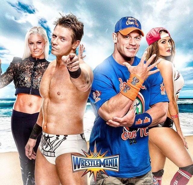 Maryse and The Miz vs. John Cena and Nikki Bella