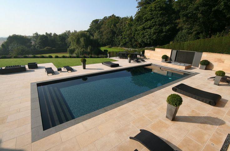 Modern Pool Design in London, U.K.