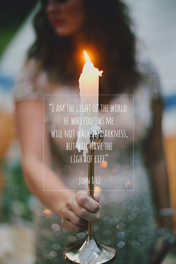 Be The Light John 8:12
