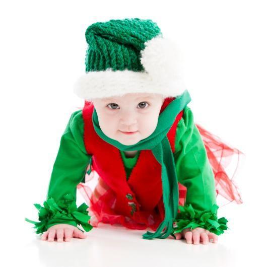 disfraces navideos para bebs