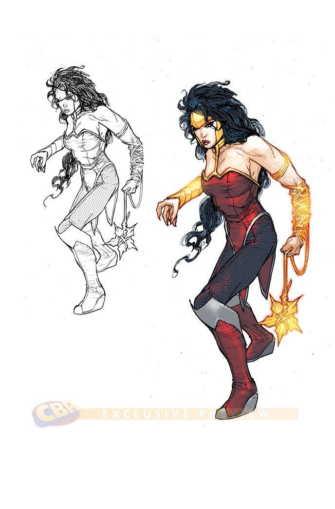 Wonder Woman By Howard Porter Justice