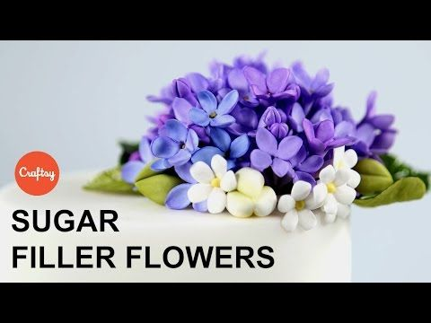 Small Sugar Filler Flowers | Cake Decorating Tutorial with Jacqueline Bu...