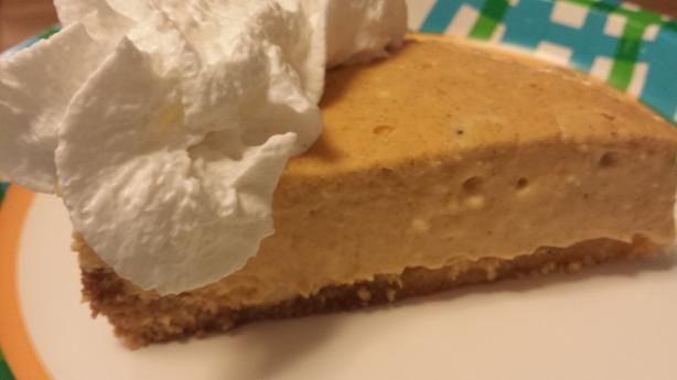 Low-Sugar Pumpkin Cheesecake Pie Recipe For A Thanksgiving Dessert ...