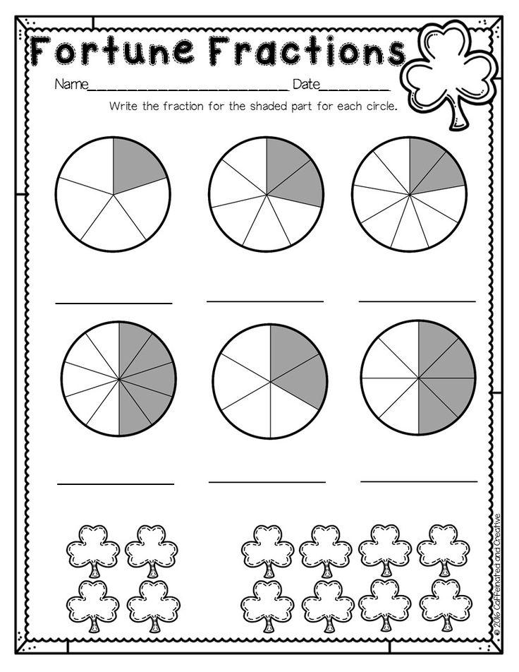 3146 best St. Patrick's Day Math Ideas images on Pinterest