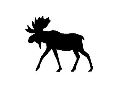 product. moose silhouette