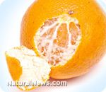 When you peel an orange, don't throw away the white part under the skin: Bioflavonoids help fight cancer and obesity