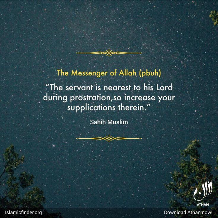 Increase your dua in supplication.   #Supplication #Sujood #IslamicFaith