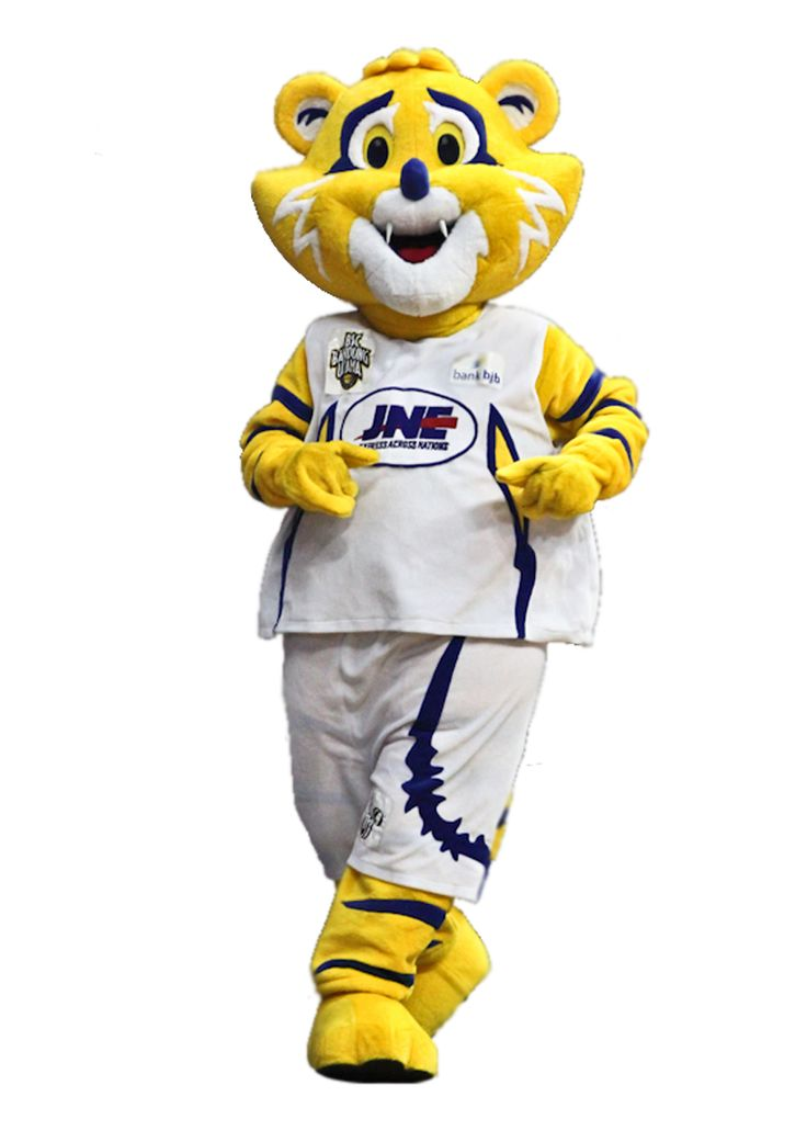 "Meet Our Gorgeus Mascot ""RORI"" The 1 and only Indonesian pro basketball team Mascot!"
