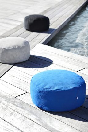 KONTRAST Pouf by Yndlingsting. Designed to create recreational spaces in your home.