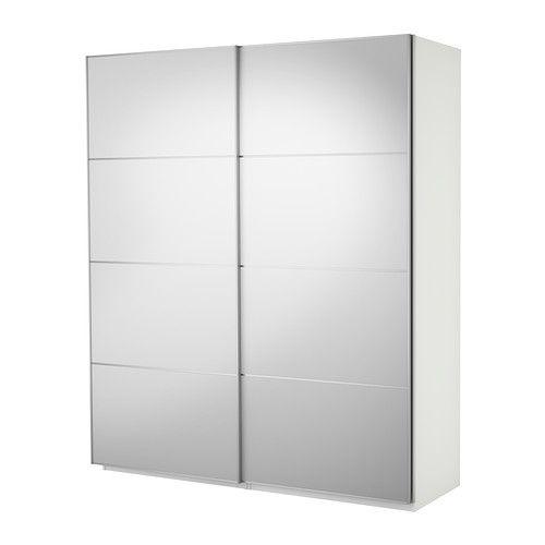 Pax, armadio a specchio IKEA con ante scorrevoli, da 452 euro
