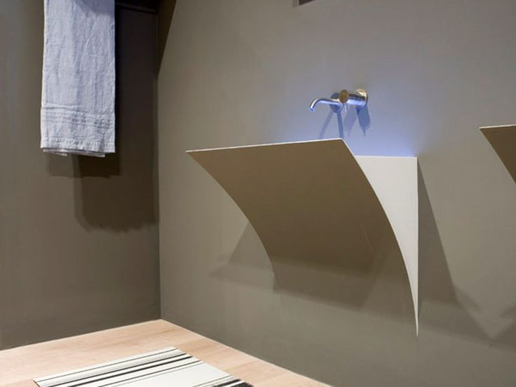 Mobili Bagno Freestanding : Mobile bagno con frontali finitura marmo di carrara idfdesign
