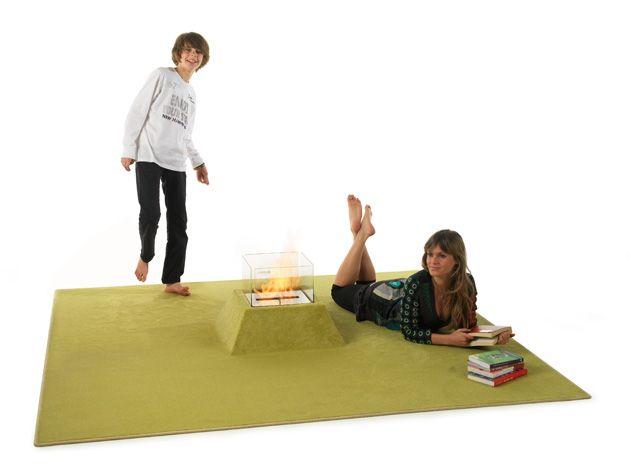 Como una alfombra