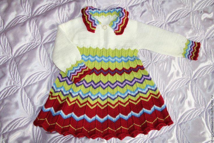 Купить или заказать Платье для девочки в интернет-магазине на Ярмарке Мастеров…