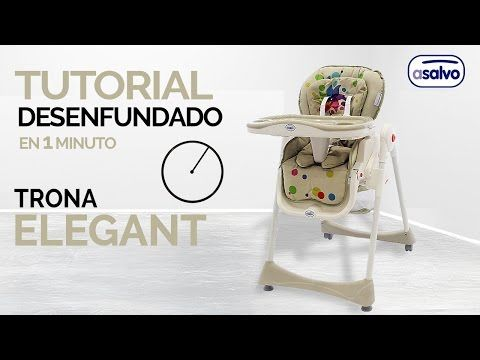 Desenfundado en 1 min. l Trona Elegant l Asalvo // Remove the cover in 1 min. l Haigh Chair Elegant l Asalvo