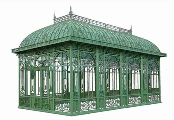 Garden Metal Gazebo : wrought iron pavilion  Wrought Iron Gazebo Gazebos Garden More