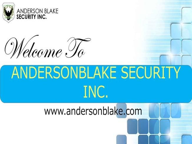 Providing leading edge mobile security service in Brampton, Toronto, Mississauga. Just call at: 1-800-761-0674, 416-800-9552 and visit our site: http://www.andersonblake.com/