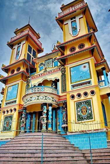 Vietnam, Vung Tau, Temple