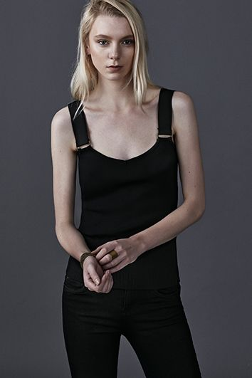 metal accessory details etty&jacques ss16 stella top