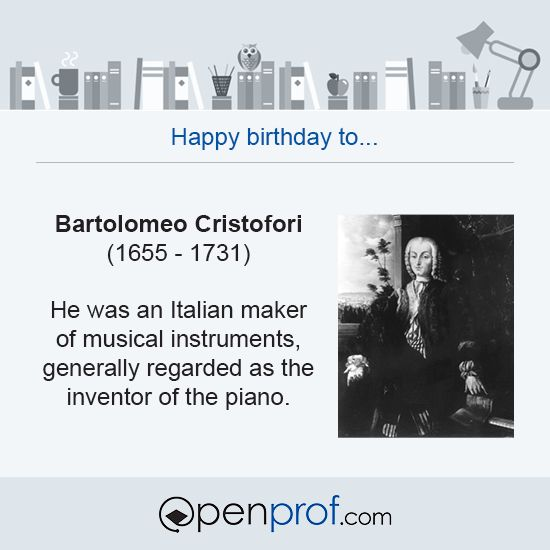 #cristofori #piano #music