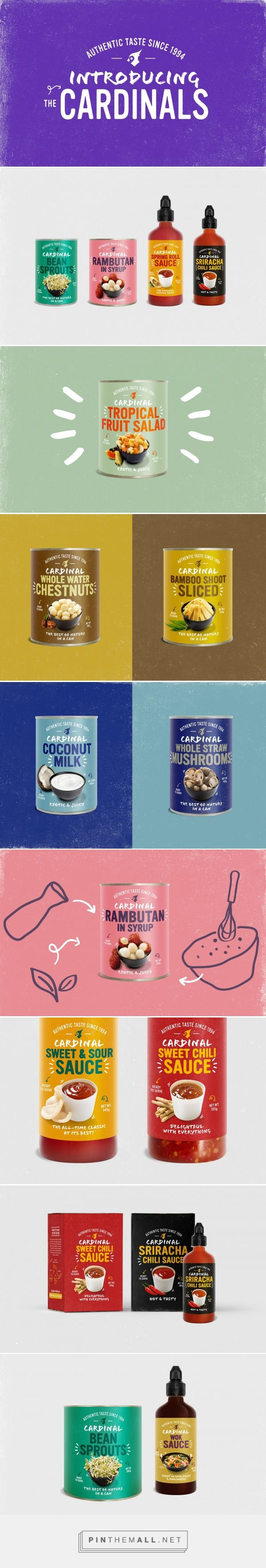 Cardinal, The Food Company - Packaging of the World - Creative Package Design Gallery - http://www.packagingoftheworld.com/2016/12/cardinal-food-company.html
