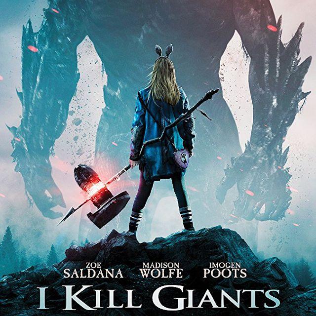 I Kill Giants (Eu Mato Gigantes) - O Filme: Adaptação para os cinemas da graphic novel com o mesmo nome... ver mais em www.bdcomics.pt #bdcomicspt