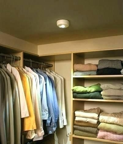 Battery Operated Closet Light With Motion Sensor Lighting