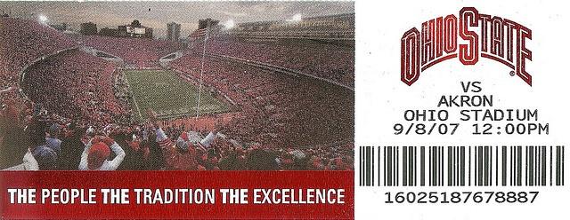 OSU Akron ticket