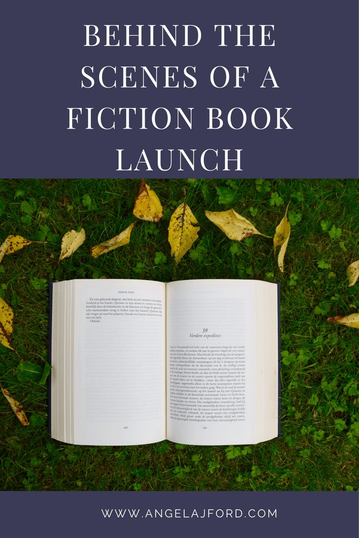 Behind the scenes of a fiction book launch and ideas you can use for your own book launch
