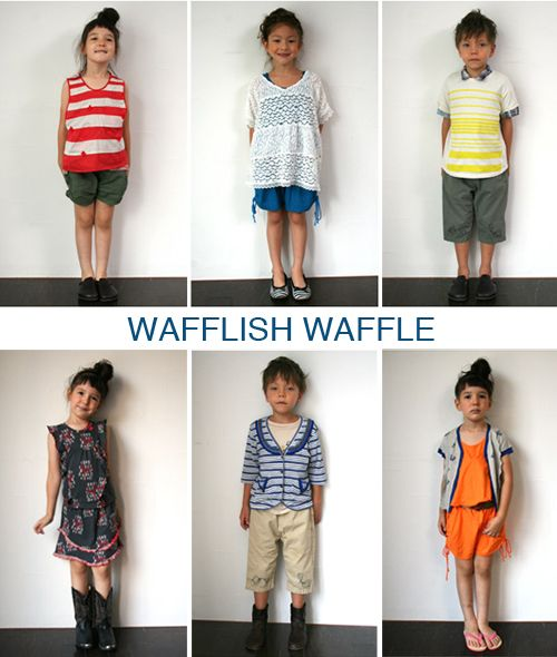 WAFFLISH WAFFLE clothing for kids