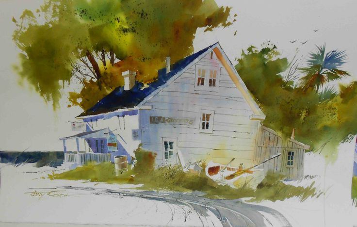 8 Best Tony Couch Watercolor Paintings Images On Pinterest