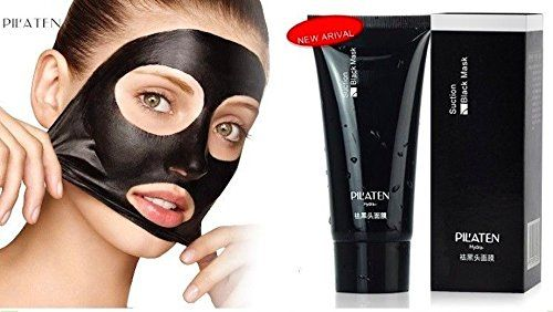 Pilaten Blackhead Remover,tearing Style Deep Cleansing Purifying Peel Off the Black Head,acne Treatment,black Mud Face Mask 60g >>> MORE INFO @ www.dhcskincare.net/Mask/100070/sfv