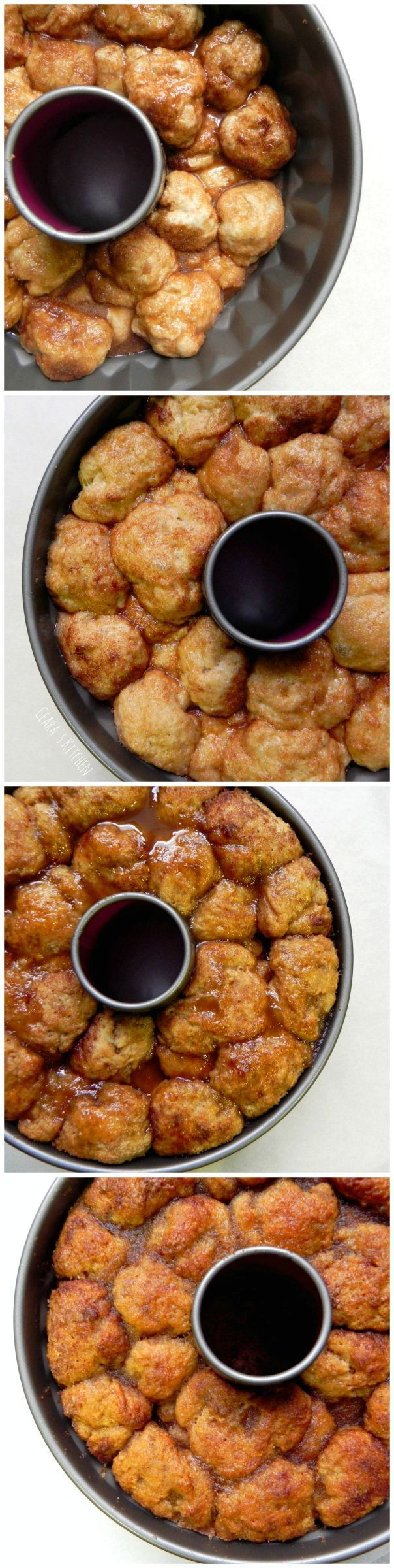 This HEALTHY Monkey Bread is the BEST! A sweet cinnamon-sugar, pull apart bread that is hard to resist! #VEGAN - Ceara's Kitchen
