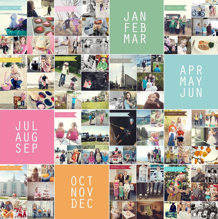 I NEED to do this for all of the PREVIOUS years and the years to come!!!! LOVE THIS..this is EXACTLY what I need. simple as that: Free Photo Collage Templates from Simple as That