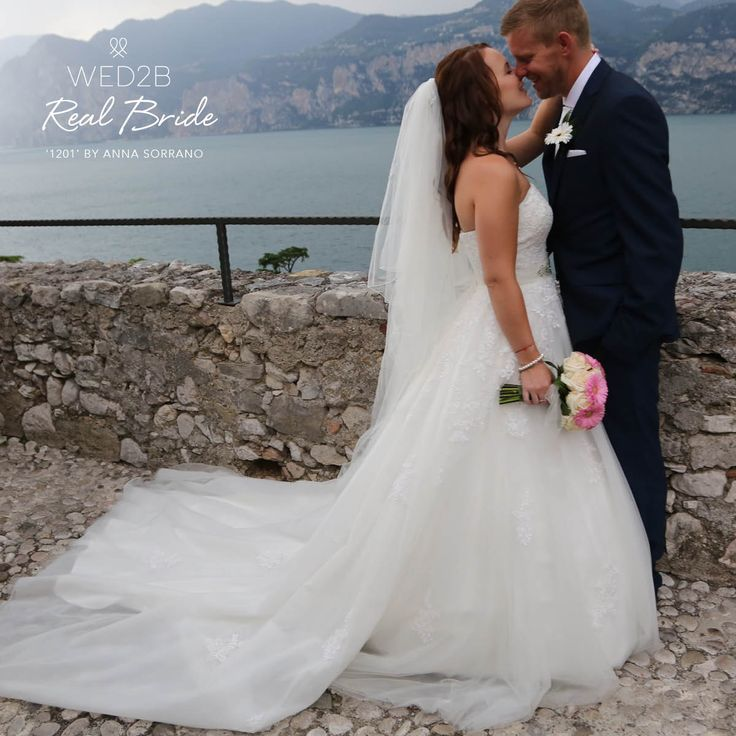 Beautiful real bride Tara, looks absolutely stunning in '1201' by Anna Sorrano 💕 Could this be 'the one' for you? 💕  http://bit.ly/AS_1201