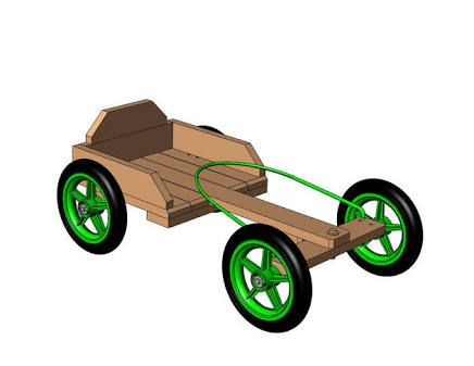 diy go kart wood plans - Google Search
