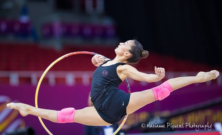 Natalia Garcia (Spain), backstage European Championships (Budapest) 2017