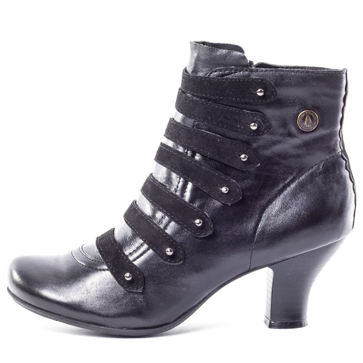 Hush Puppies Tiffin Verona Womens Ankle Boots in Black