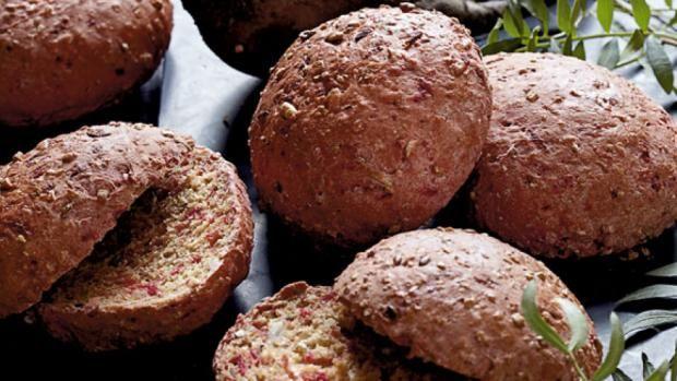 Sunde boller med rødbede - lækker, sund opskrift