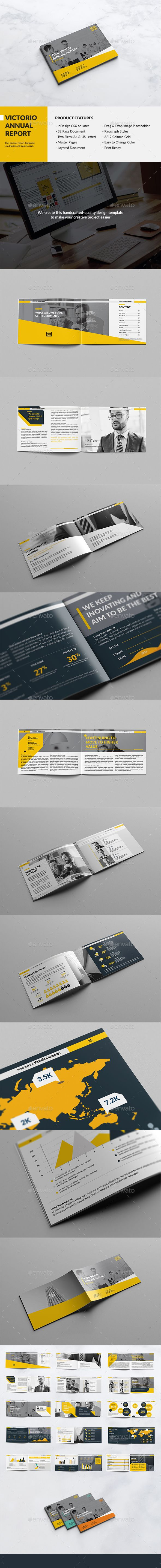Victorio Landscape Annual Report Template InDesign INDD. Download here: http://graphicriver.net/item/victorio-landscape-annual-report/15885166?ref=ksioks