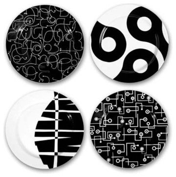 In The Mix Salad Plate Set by notNeutral contemporary-specialty-cookware