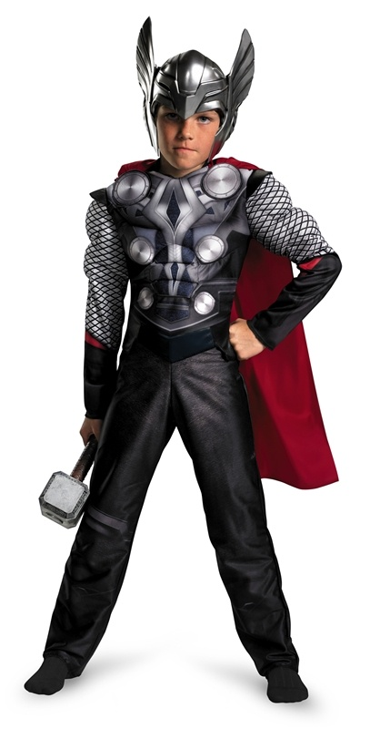 Thor Muscle Child Costume